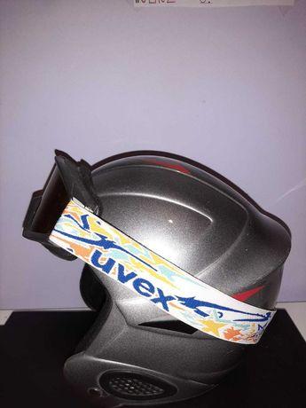 Kask narciarski zjazdowy uvex