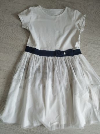 Elegancka sukienka na lato z tiulem