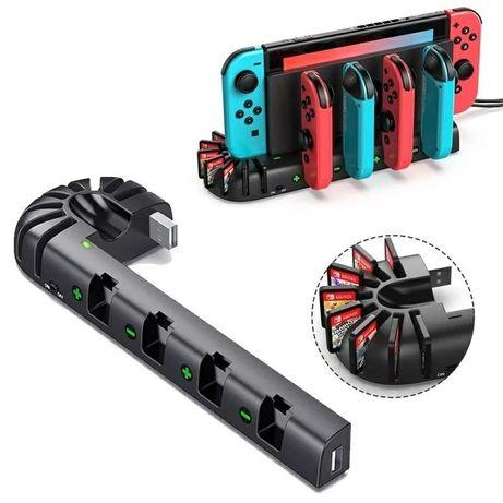 Switch - Nintendo - dock charge station - ładowanie padów