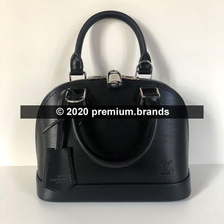 Torebka Louis Vuitton Alma BB czarna skóra naturalna Epi
