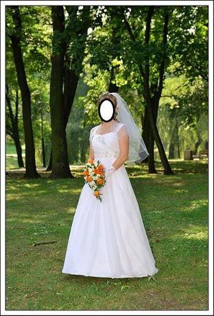 Suknia ślubna r 36