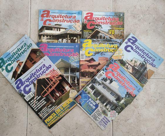 """Revistas """"Arquitetura e Construção"""" 1993 e 1994"""