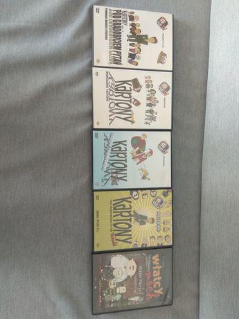 Kartony Władcy Móch 5 x DVD