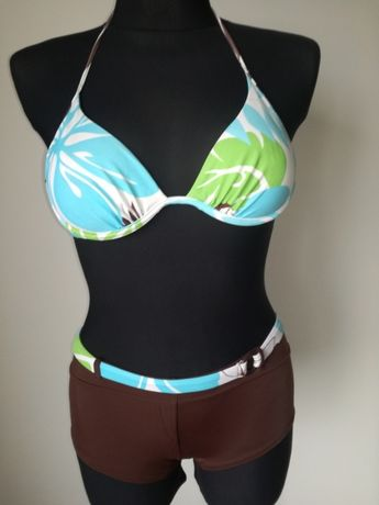 Kostium strój kąpielowy dwuczęściowy na plażę basen bikini S 36 38 B