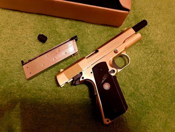ASG Colt 1911 full metal socom gear 24k GOLD złoty gbb