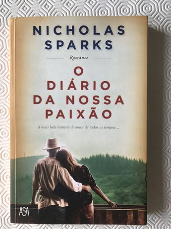 """Livro """"O diário da Nossa Paixão"""" de Nicholas Sparks"""