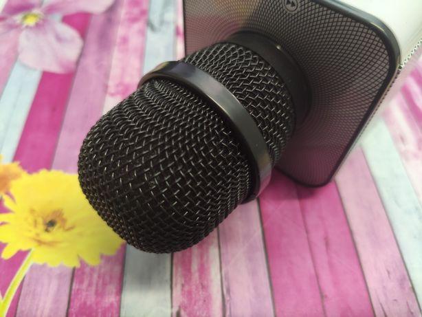 Караоке микрофон портативный Q9 bluetooth | колонка