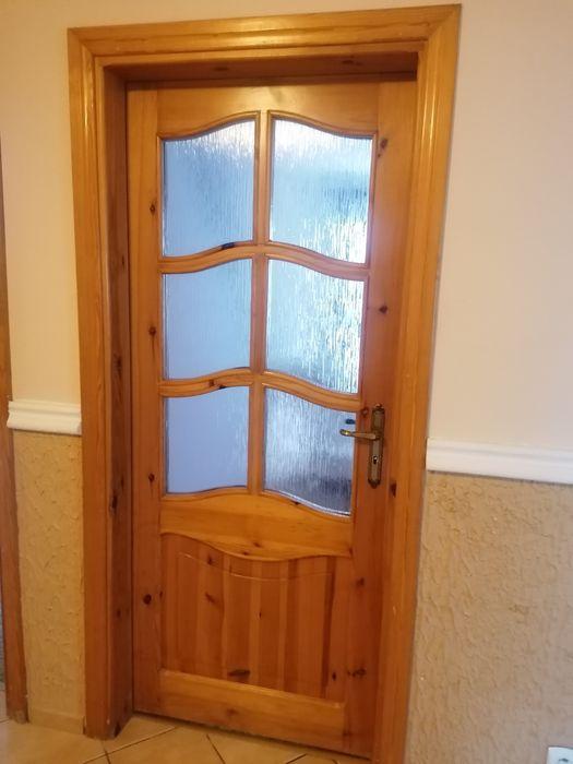 Drzwi wewnętrzne z drewa litego Kębłowo - image 1