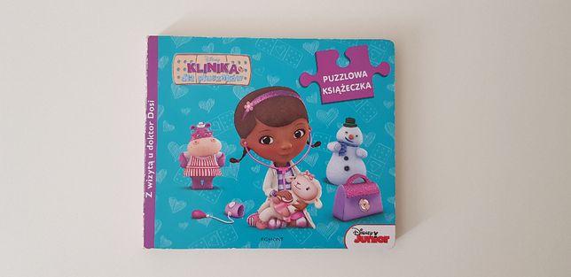 Książeczka Doktor Dosia puzzle Klinika dla pluszaków - Disney Junior