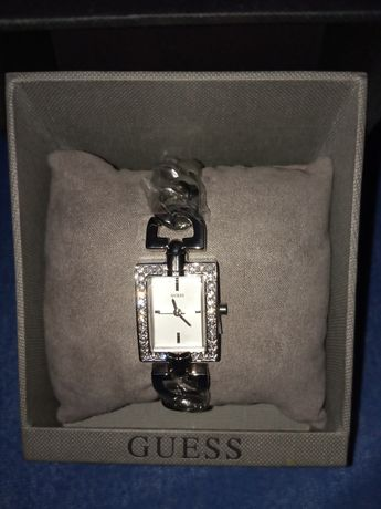 Prezent Nowy zegarek damski elegancki Guess bogata bransoleta