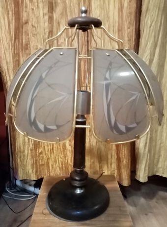 Lampa stolik z czasów PRL symbol . Z.S.O. POLAM Radom typ 114.B.048