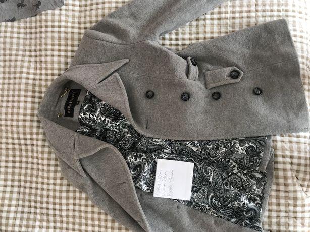 Пальто-пиджак шерстяное