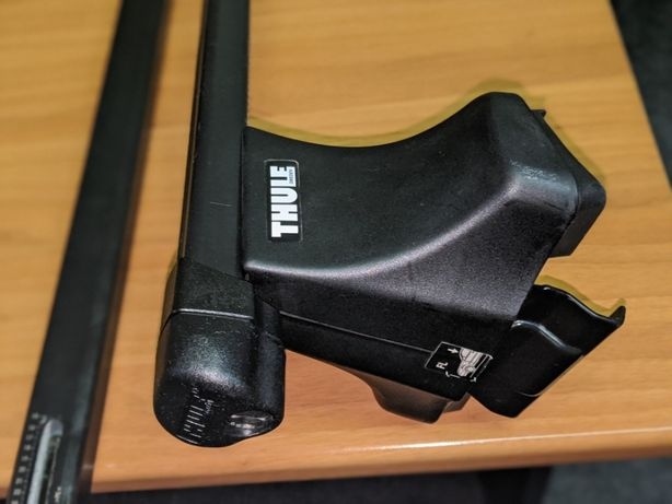 Багажник Thule 750 Rapid System / Thule SquareBar TH761 120 см ключ