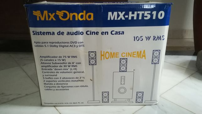 Sistema de som - Home Cinema (NOVO)