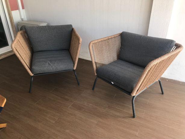 Cadeiras Exterior ( óptimo estado )