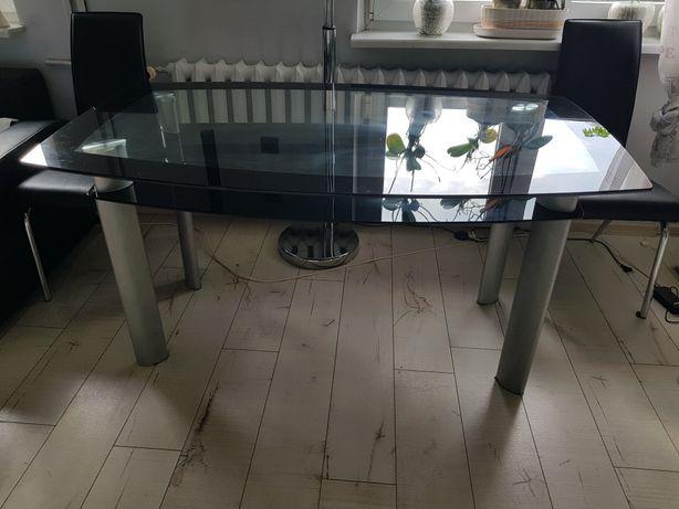 Stół szklany 90 szer 150 dł 76 wys