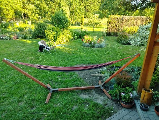 Hamak ogrodowy używany jeden sezon kontakt tel.