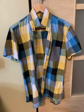 Koszula męska krótki rękaw House