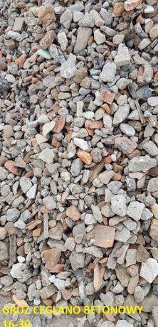 tłuczeń ceglany betonowy Poznań okolice