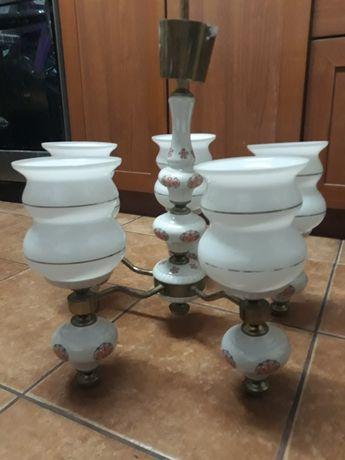 Żyrandol porcelanowy
