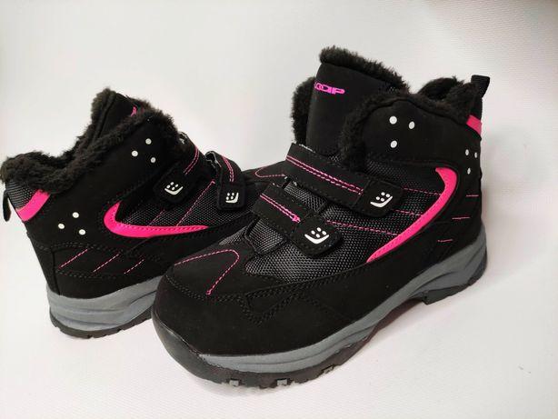 Ботинки зимние полуботинки термо ботинки сапоги для девочки зима Чехия