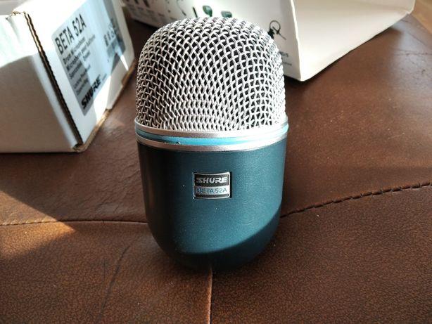 Mikrofon Shure 52a bas stopa