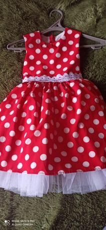 Нарядное платье в стиле ретро для девочки