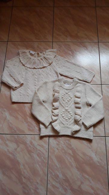 Zestaw sweterkow Zara 104
