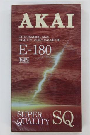 Видеокассета / video cassette AKAI E-180 SQ Tokyo Japan (новая)