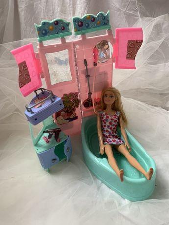 Ванная комната игрушечная, ванная для барби, ванна для кукол