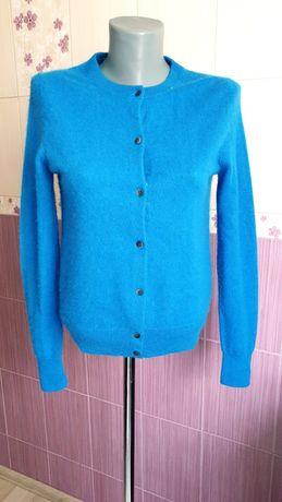 Кашемировая синяя кофта uniqlo оригинал