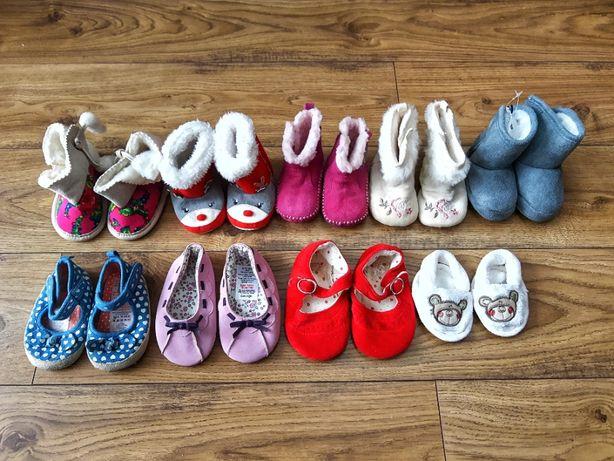 Buciki dla dziecka, różne rozmiary 3-12 miesięcy, pytać o cenę