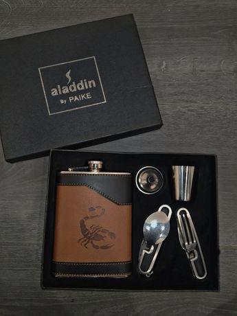 Набор с флягой, aladdin by paike , фляга , подарочный набор ,