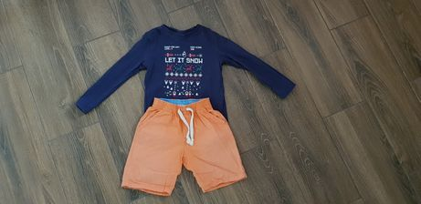 Кофточка и шорты для мальчика.