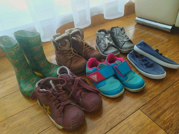 Komplet bucików dla dziewczynki rozmiar 24