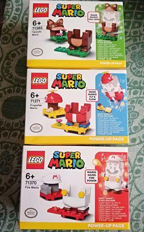 Lego Super Mario 71370 Ognisty 71371 Helikopterowy 71360 i Szop 71385