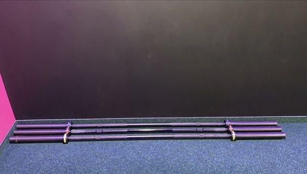 Один Гриф штанги InterAtletika C3-27b кросфіт 220 см (нагруз. 680 кг)