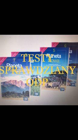 Geografia Planeta Nowa 5 7 książka nauczyciel nowa era t:e;s(t)y