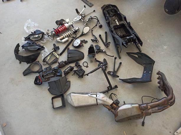 Bmw s1000xr  lampa set stelaż części