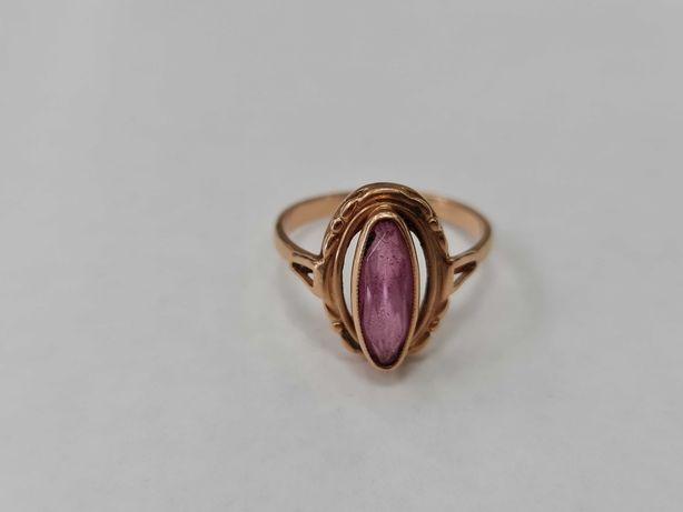 Piękny złoty pierścionek/ Radzieckie 583/ 3.71 gram/ R16