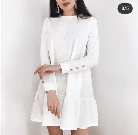 Продам белое платье!