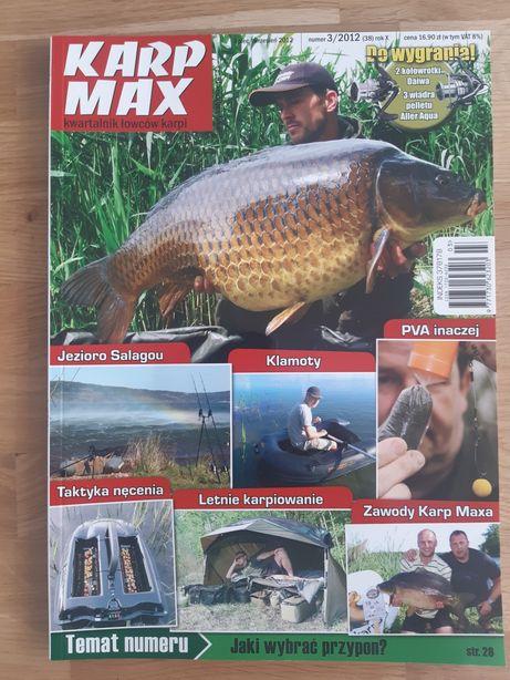 6 archiwalnych numerów czasopisma Karp Max
