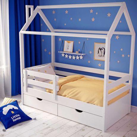 Детская кроватка трансформер/Кроватки Домики