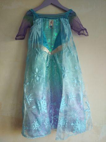 Платье Эльза 2-3 года рост 92-98 см