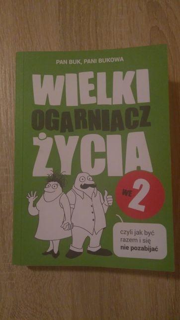 """Książka """" pan Buk, pani Bukowa wielki ogarniacz życia we 2"""" nowa"""