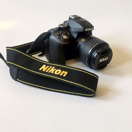 NIKON D5300 + AF-S Dx 18-55 VR + bolsa