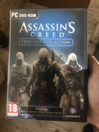 Assasins creed heritage collection PC Assasins creed 1 2 3