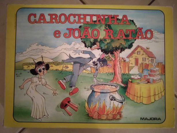 """Jogo da Majora """"Carochinha e João Ratão"""""""