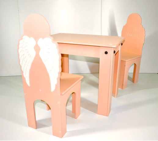 Стол и стул , комплект мебели, детский стол, детский стул