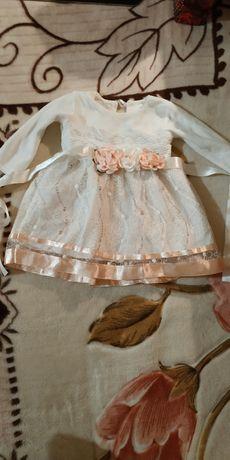 Нарядное платье от 1 года до 1,5